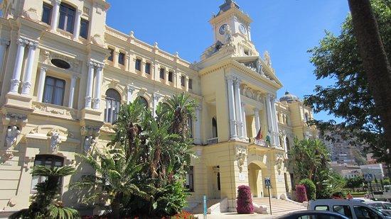 Malaga's town hall