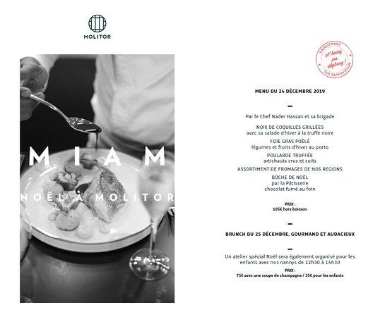 Molitor Brasserie Urbaine Paris 16th Arr Passy Menu