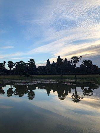 Angkor Wat Sunrise Shuttle tour was so much fun!