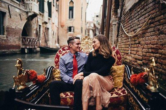 Sesión de fotos privada en Venecia...