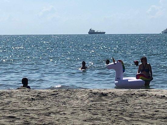 Gaira, Colombia: Playa Pleno Mar