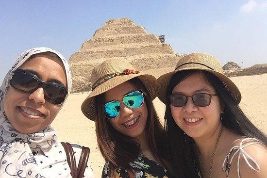 Giza pyramider, Sakkara, Memephis...
