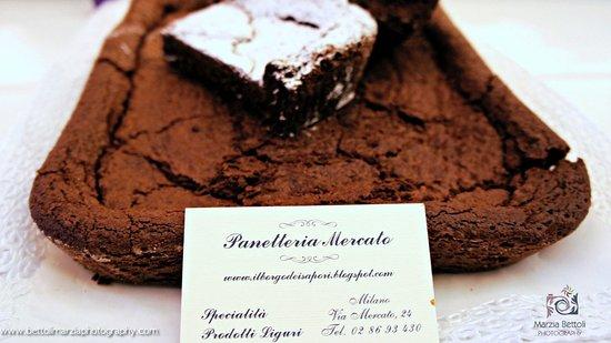torta al cioccolato tenerina.