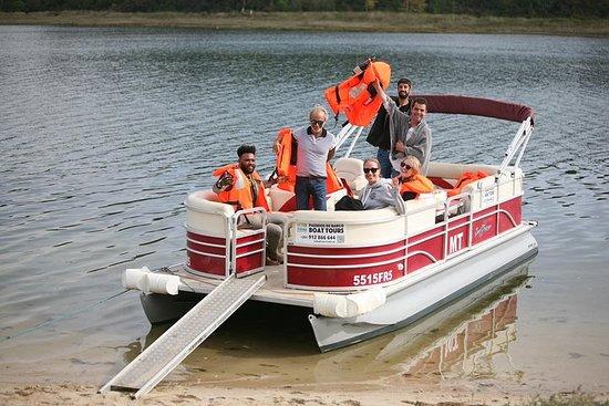 オビドスラグーンのボートツアー