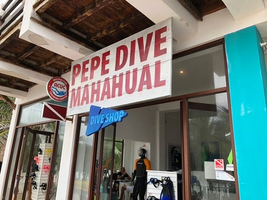 Pepe Dive Mahahual