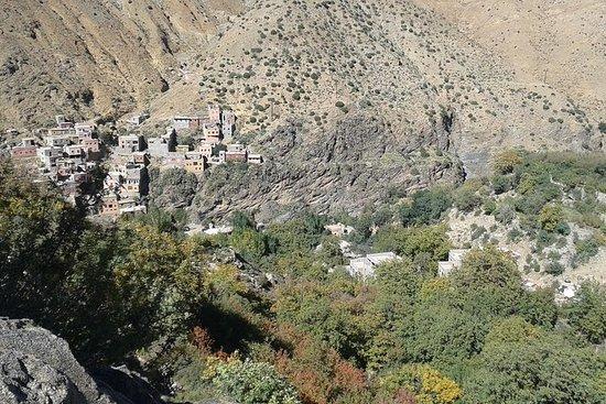 Das Ourika-Tal und das Atlasgebirge...