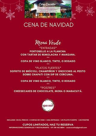 * Te invitamos a nuestra cena de navidad el 24 de diciembre * Disfruta de nuestras 2 opciones. CUPOS LIMITADOS, HAZ TU RESERVA +57 318 462 8894 - casacocotte@gmail.com  • #professionalchefs #culinarytalents #gourmetdinner #artonaplate #foodartchefs #chefoninstagram #thebestchef #tripadvisor #topchef #gourmetfood #santero #casacocotte #palominoguajira #palomino #ron #ronsantero #bartender #curso #barmaid #bar #casacocotte #proyectosocial #centrodeformaciones #comida #restaurante #palominoturísmo