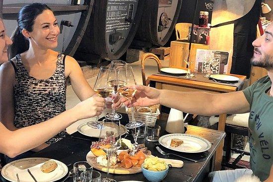 Tourte Meal + Cellar Tour + 5 vinsmaking