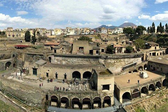 Herculaneum Positano and Sorrento Tour