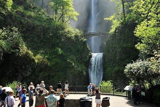 哥伦比亚峡谷瀑布和葡萄酒:波特兰全包下午游