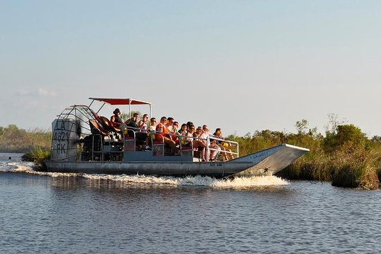 Airboat Ride med rundtur Transport...