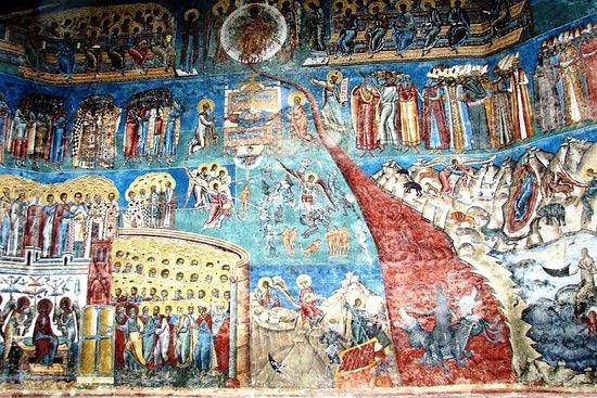 トランシルバニア&ブコヴィナの塗装修道院...
