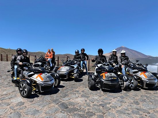 Tenerife: Turné i Can Am Spyder al Teide