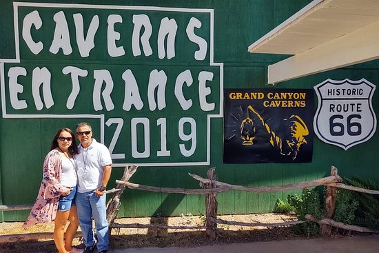 Grand Canyon Caverns / Route 66 Museum / Tour della cantina