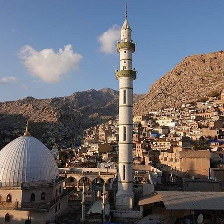 Erbil, Iraq: Akre town