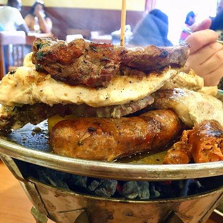 La Serena, Chile: #restaurantdonhumberto recomiendo una parrillada, cocción a gusto, céntrico, carne a las brasas, té de hojas y buena atención. Recomendable, familiar y está abierto los fin de semana.