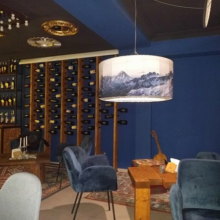 The first wine bar in Mestia