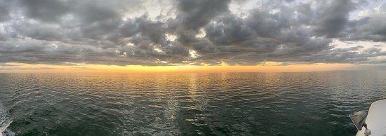 Panoramic - sunset / early dusk