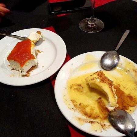 Ambiente familiar e descontraído, a não perder o cheesecake de abóbora e as farófias!