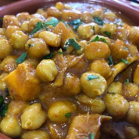 Algeciras, España: Comida tradicional, con la mejor presentación.