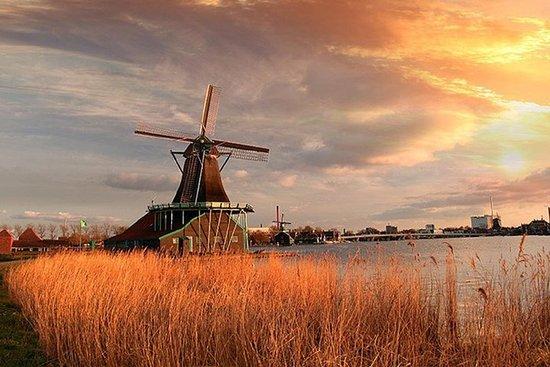 Pueblos de Ámsterdam y molinos de...