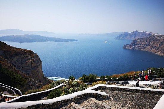Excursion d'une demi-journée à Santorin...