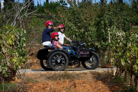 Private Tour: Algarve Wine and Tapas Tour by Sidecar Motorcycle from...