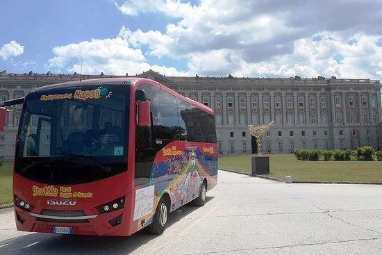 Traslado en autobús Nápoles-Reggia di...