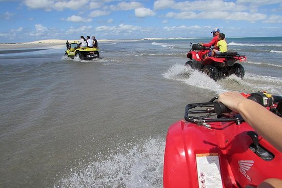 Tour en buggy en la playa de Tatajuba...