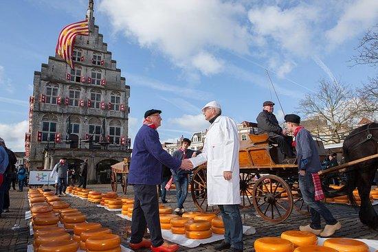Käsemarkt Tour nach Alkmaar ab...