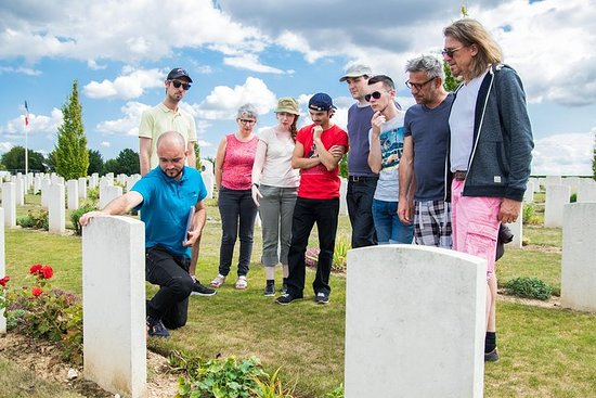 Small-Group Day Trip Somme Battlefields with John Monash Centre from...