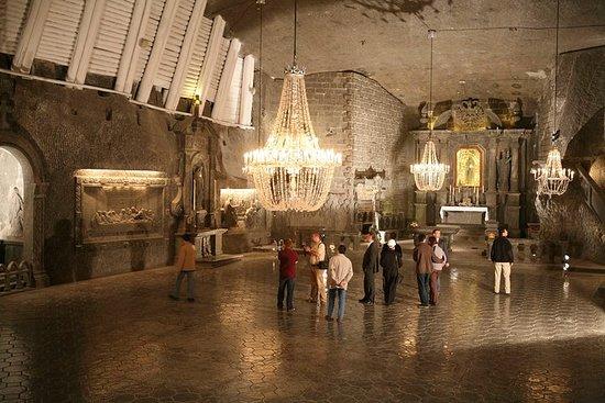 Tour a la mina de sal de Wieliczka...