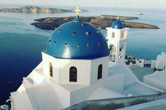Explorez l'île de Santorin lors d'une...