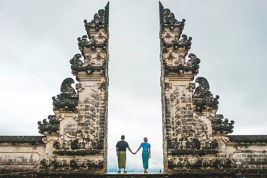 Templo do Lempuyang no portão do céu e...