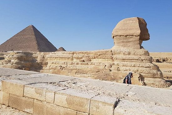 The pyramids and the Egyptian museum...
