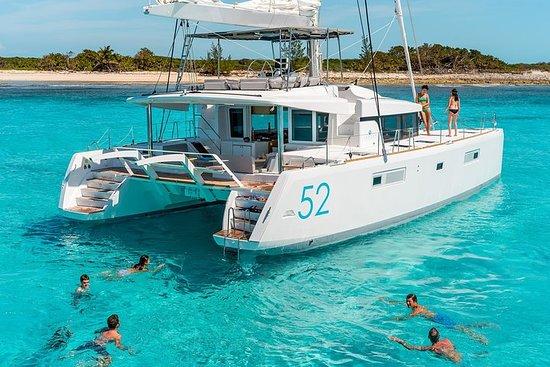 Crucero de lujo en catamarán a vela...
