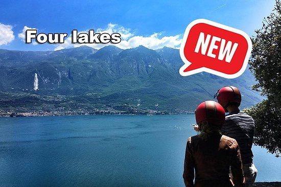 Vier-Seen-Vespa-Selbstführung