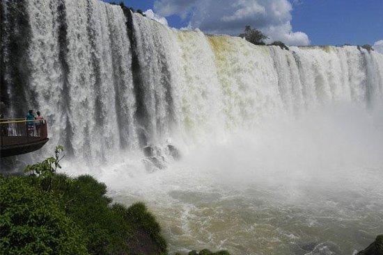 Brazilian Falls, Boat Ride and bird...