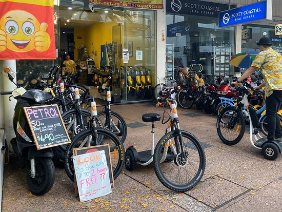 Happy Hire Gold Coast Scooters