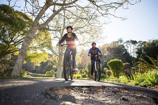 Faire du vélo aux chutes Hunas...