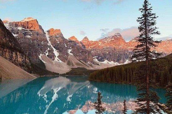 Excursão clássica em 5D-Banff, Jasper...