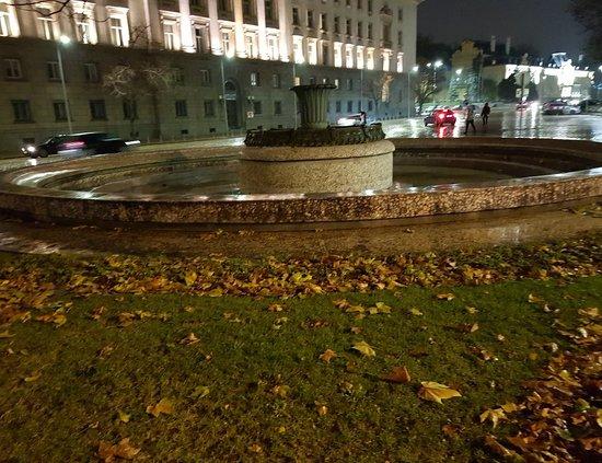 Fountain At Atanas Burov Square