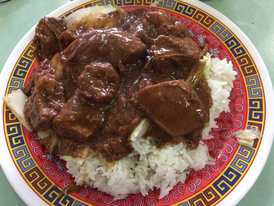 Brisket beef rice has massively changed since 2014 under the new ownership. The sauce is a very strong flavour with much less rice and Chinse leave.