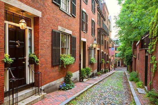 Copley Square naar het centrum van Boston Freedom Trail wandeltour Foto