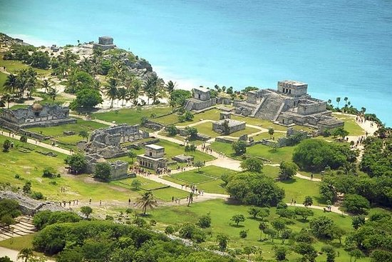 Excursão 4X1 Tulum-Cenote-Coba-Playa...