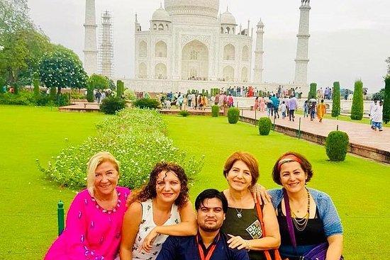Tour d'Agra Taj Mahal