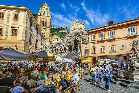 Lille gruppe Positano, Amalfi og...