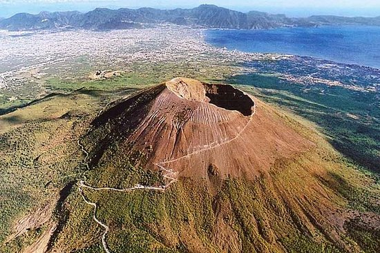 Mt Vesuvius and Pompeii Tour by Bus...