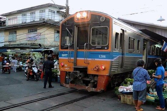 曼谷:泰國街頭食品海鮮冒險與火車到Mahachai泰國