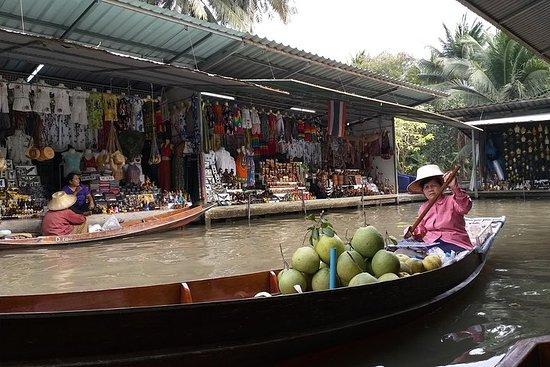 從曼谷出發的私人旅遊Damneon Saduak水上市場之旅